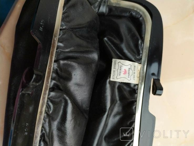 Винтажный клатч Италия.Genuine leather., фото №3