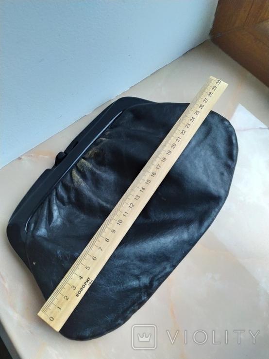Винтажный клатч Италия.Genuine leather., фото №4