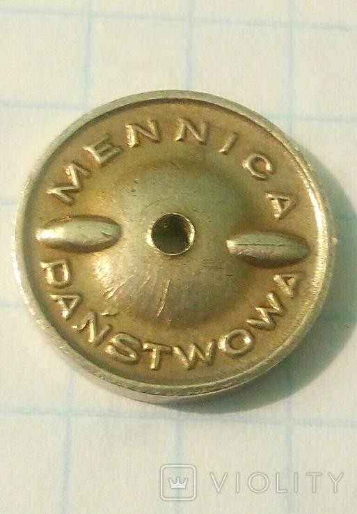 Польский франчный значок медика., фото №6