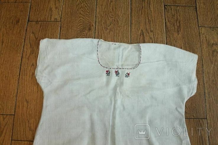 Сорочка вышиванка старинная №47, фото №2