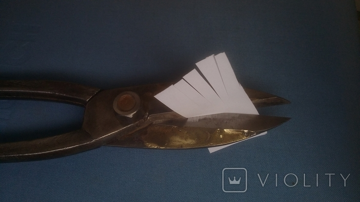 Ножницы по металлу с напайками Ножницы жестянщика Ножницы кровельщика, фото №4