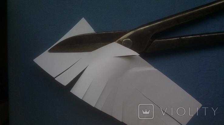 Ножницы по металлу 375 мм напайки из самокальной стали, фото №4