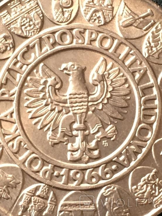 100 злотых 1966, фото №6
