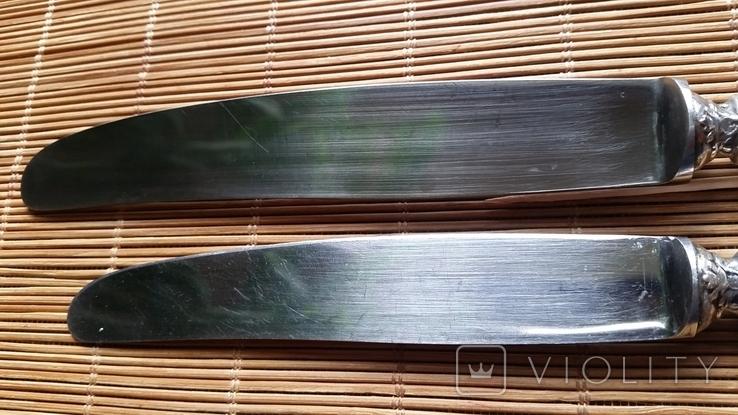 Ножі столовий і десертний, 800 Bruckmann & Sohne, фото №6