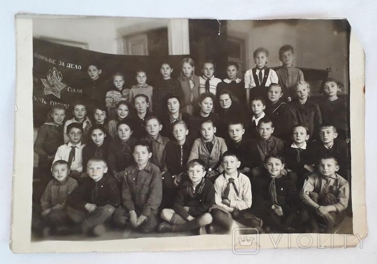 "Фотография ""Пионерский отряд""  (18*12), фото №2"