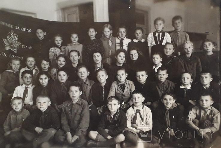 "Фотография ""Пионерский отряд""  (18*12), фото №3"
