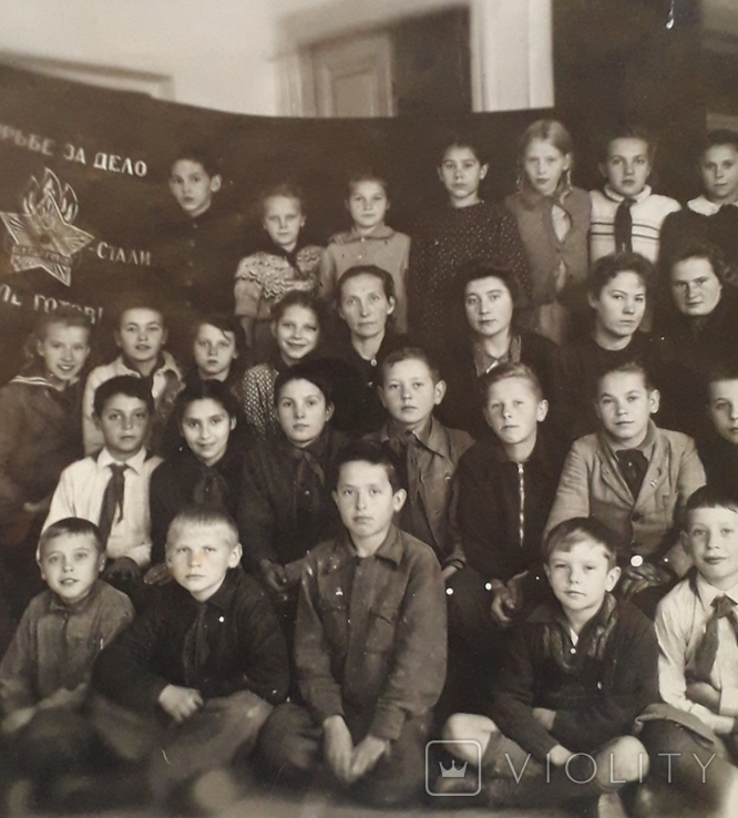 "Фотография ""Пионерский отряд""  (18*12), фото №4"