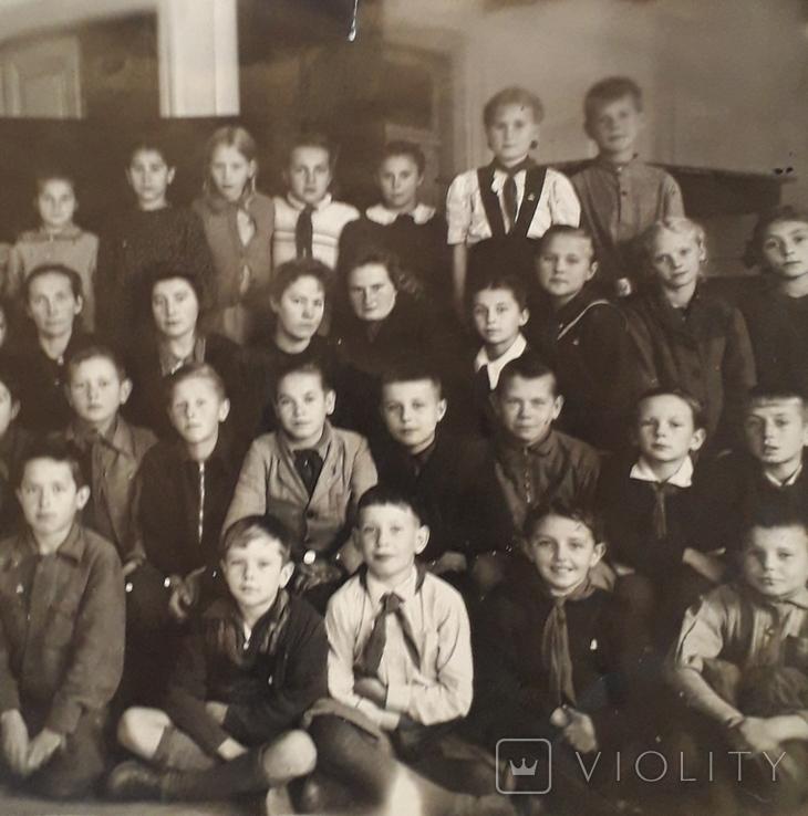 "Фотография ""Пионерский отряд""  (18*12), фото №5"
