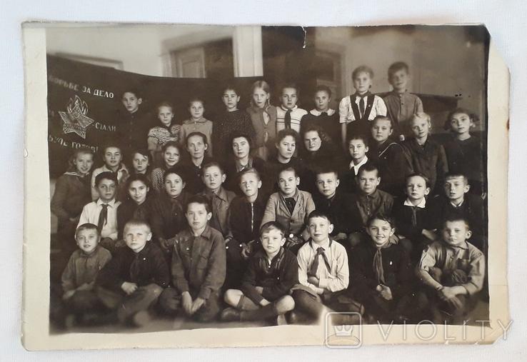 "Фотография ""Пионерский отряд""  (18*12), фото №7"