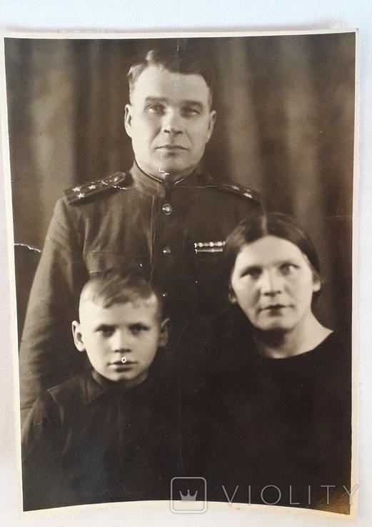 """Фотография """"Полковник с семьей""""  (11*15), фото №2"""