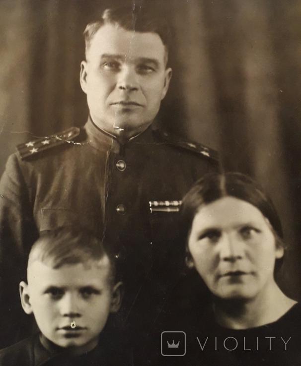 """Фотография """"Полковник с семьей""""  (11*15), фото №4"""