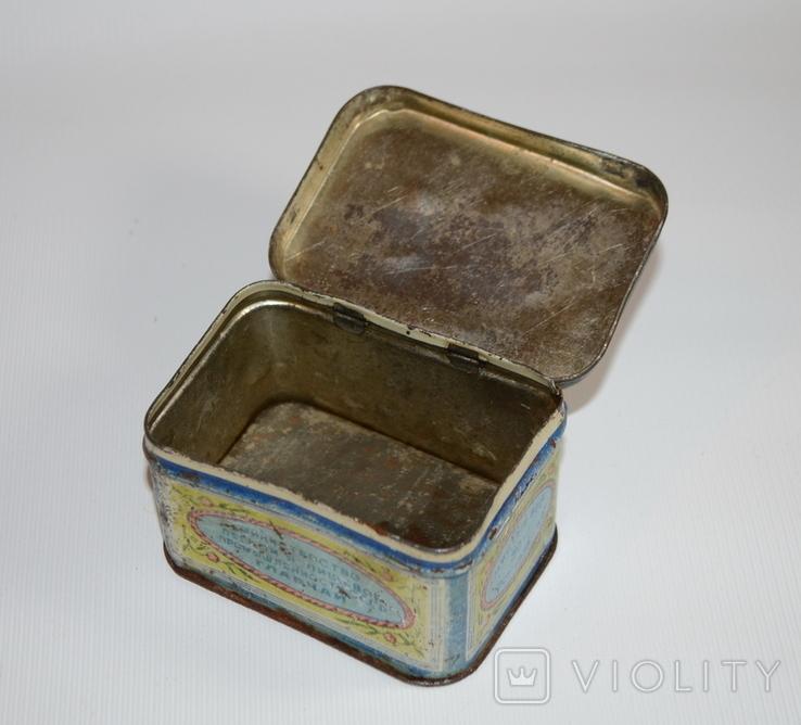 """Коробка для чая """"Грузинский чай"""" Главчай 50 грамм, 1946 год, фото №5"""