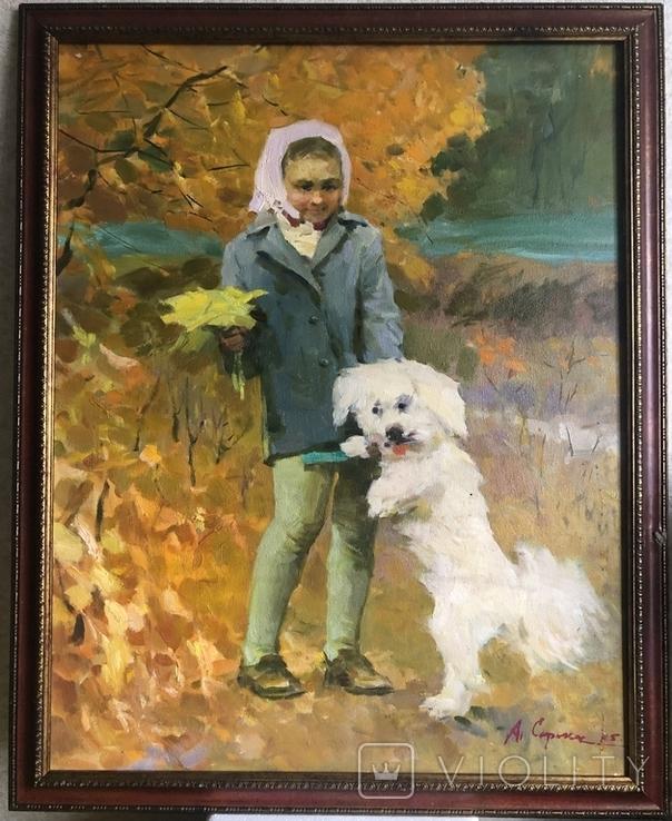 Аркадий Сорока «Осень» 70х55, фото №2