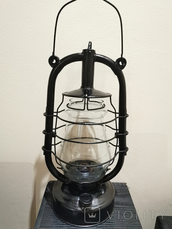 Лампа керосиновая большая, фото №2