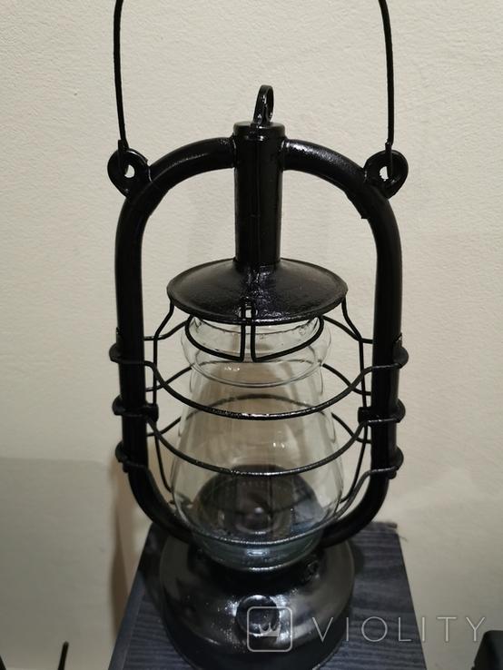 Лампа керосиновая большая, фото №4