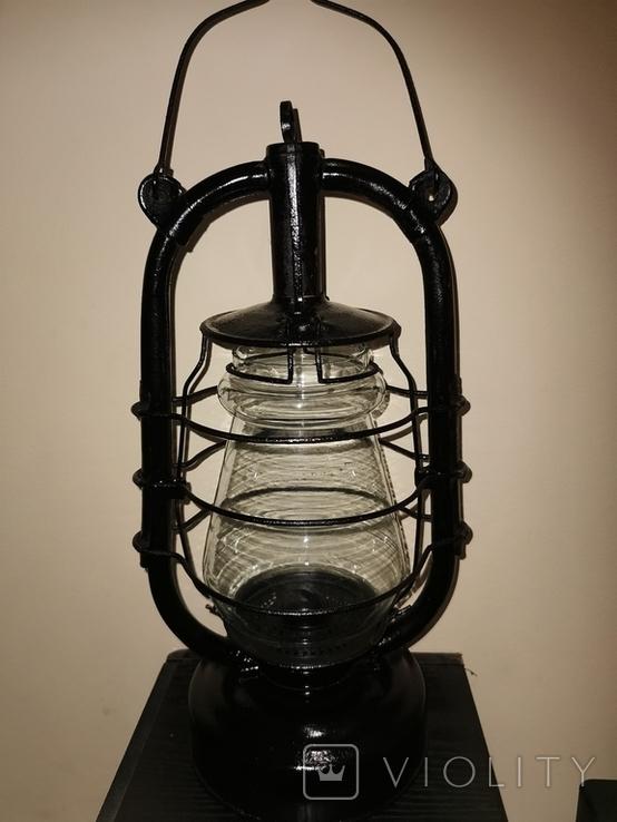 Лампа керосиновая большая, фото №9