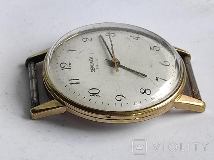 Часы Seconda - Ракета, мужские , АУ 20, СССР., фото №3