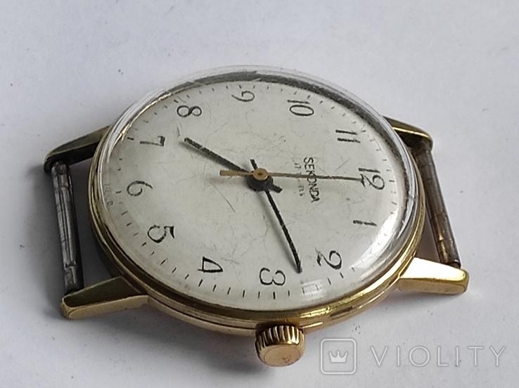 Часы Seconda - Ракета, мужские , АУ 20, СССР., фото №4
