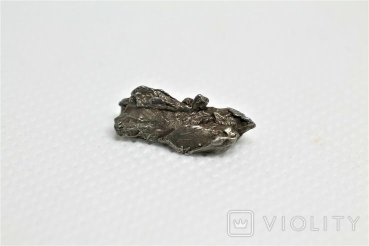 Залізний метеорит Campo del Cielo, 2,1 грам, із сертифікатом автентичності, фото №2