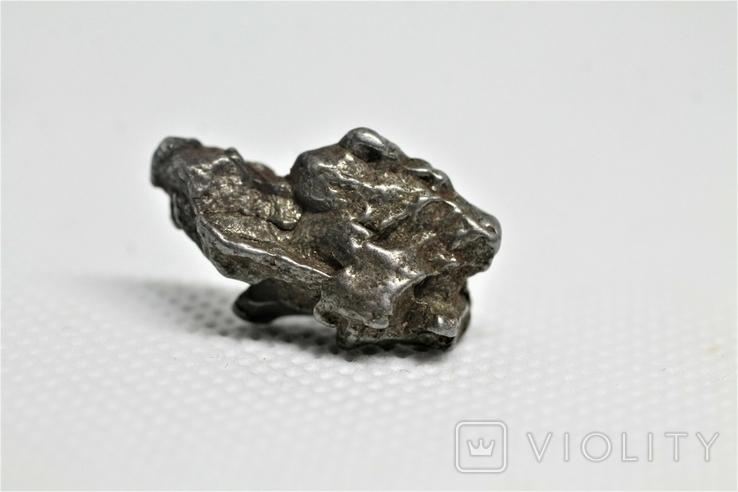 Залізний метеорит Campo del Cielo, 7,1 грам, із сертифікатом автентичності, фото №2