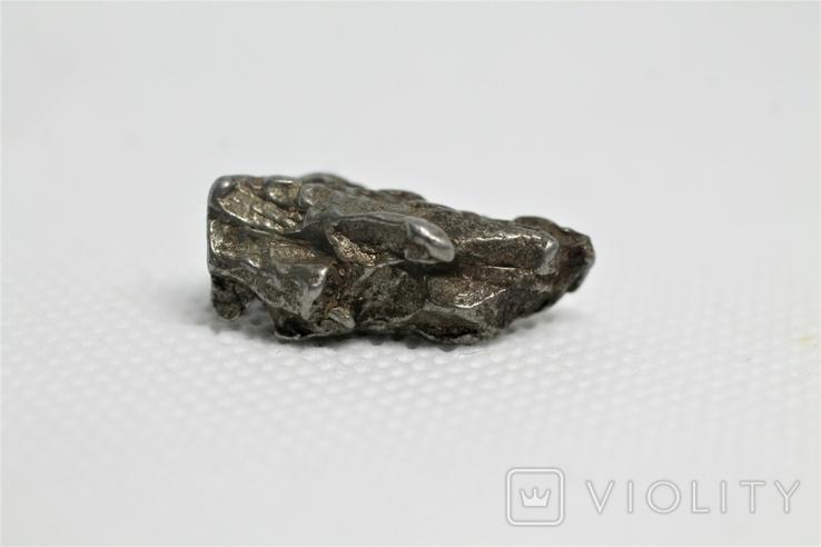 Залізний метеорит Campo del Cielo, 7,1 грам, із сертифікатом автентичності, фото №9
