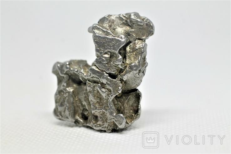 Залізний метеорит Campo del Cielo, 29,8 грам, із сертифікатом автентичності, фото №5