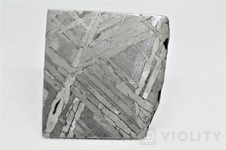 Залізо-кам'яний метеорит Seymchan, 30,0 грам, із сертифікатом автентичності, фото №2