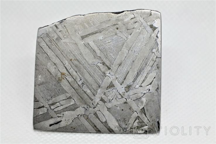 Залізо-кам'яний метеорит Seymchan, 30,0 грам, із сертифікатом автентичності, фото №7