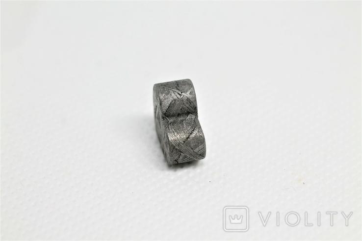 Залізній метеорит Muonionalusta, форма серця, 5,6 грам, сертифікат автентичності, фото №10