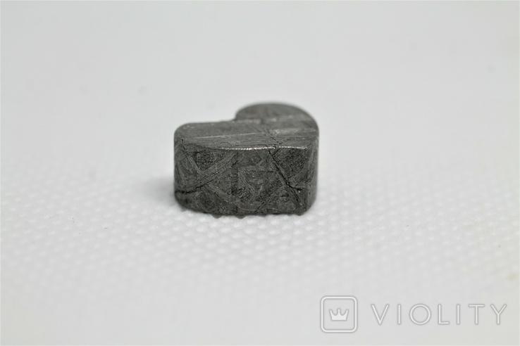 Залізній метеорит Muonionalusta, форма серця, 5,6 грам, сертифікат автентичності, фото №11