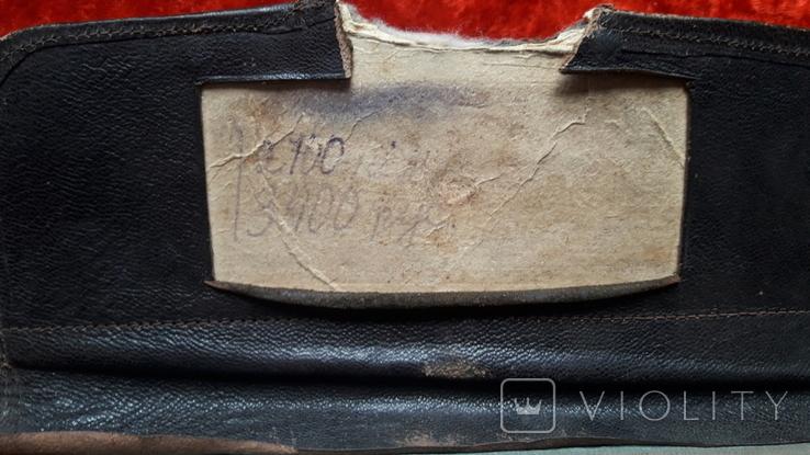 Монтажная сумка с тиснением. Индпошив 40-60е. Цена дореформы 3400 руб, фото №5