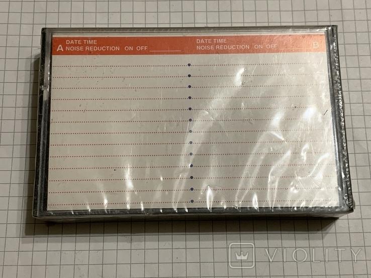 Аудиокассета JVC новая, фото №3