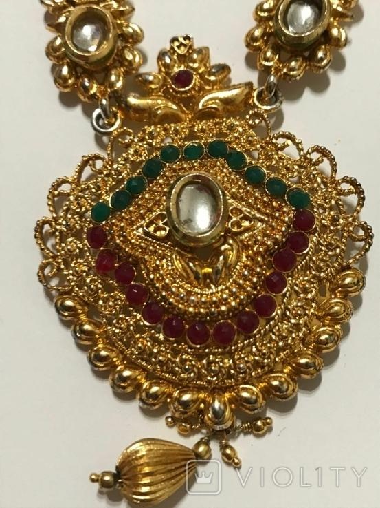 Ожерелье и кулон, фото №4