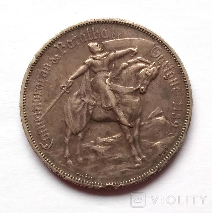Португалія Португалия 10 ескудо эскудо 1928 серебро срібло, фото №2