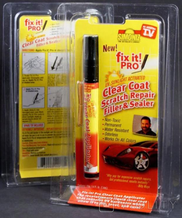 Карандаш для удаления царапин на авто, фото №2