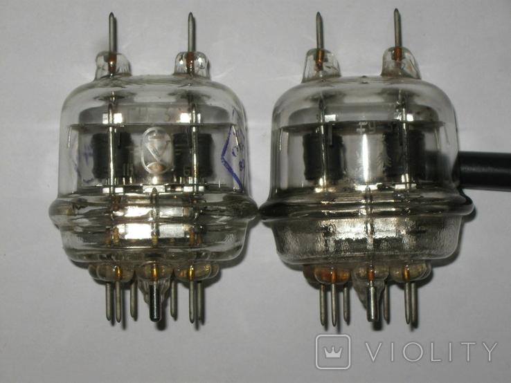 Лампа СССР ГУ-32 в лоте 2 тш. 1969 и 79 год., фото №3