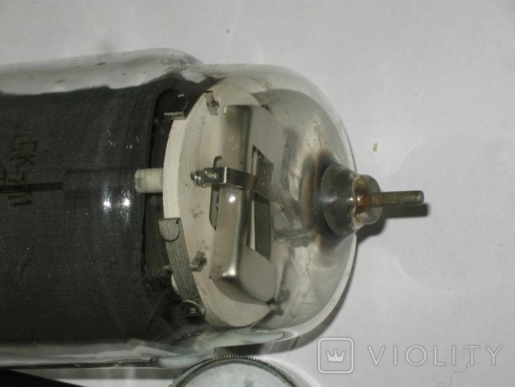 Лампа СССР ГК-71 1973 год. длина 20 см., фото №4