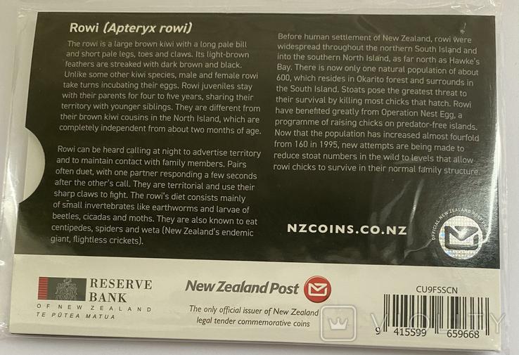 1 доллар. 2020. Киви. Новая Зеландия. (серебро 999, 1 oz), фото №6