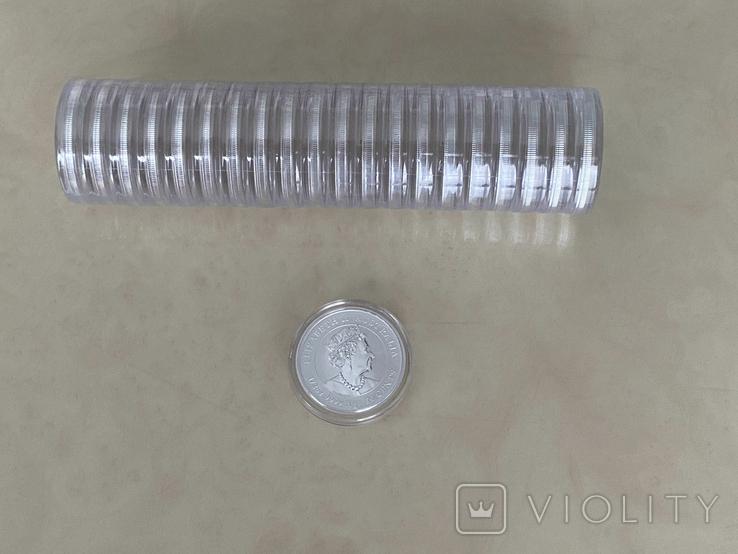 """Туба - 20 монет """"Lunar III - Год Быка"""" 2021 г. (серебро 999, 15,55 г), фото №3"""