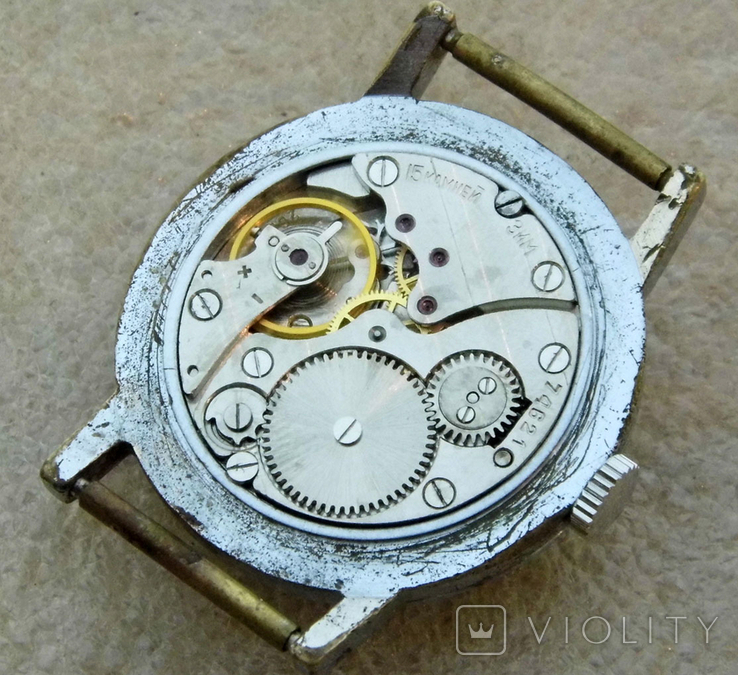 Часы победа ссср  (60), фото №9