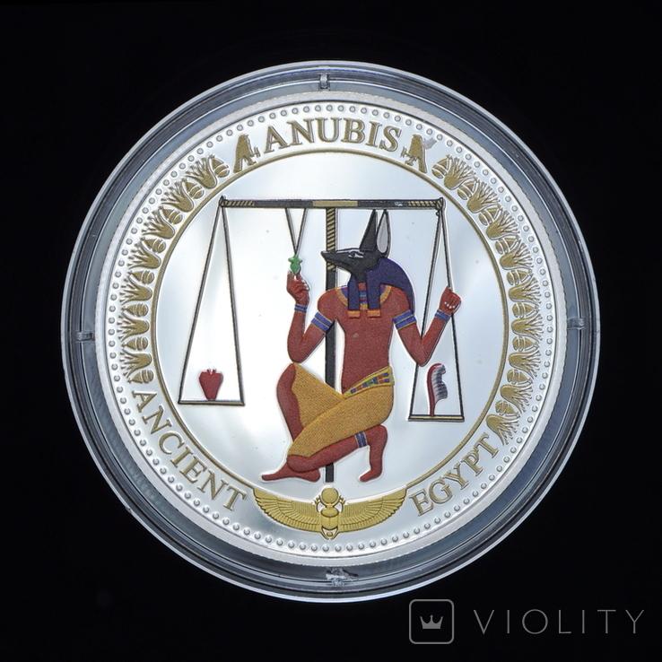 2 Доллара 2015 Анубис - Древний Египет, Соломонвы Острова, фото №2
