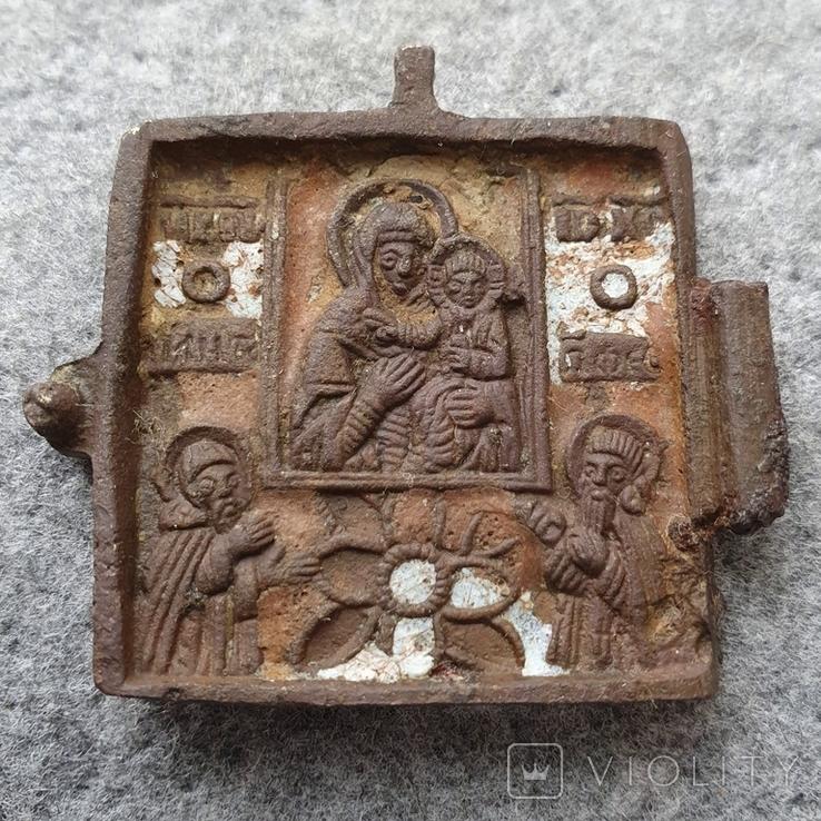 Створка складня ~ХVII-ХVIII века, фото №2