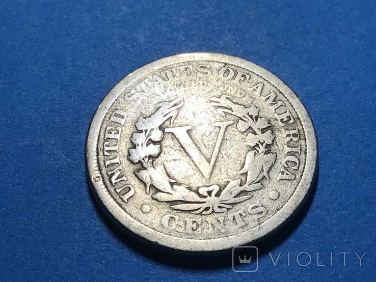 5 центов сша 1911 г., фото №3