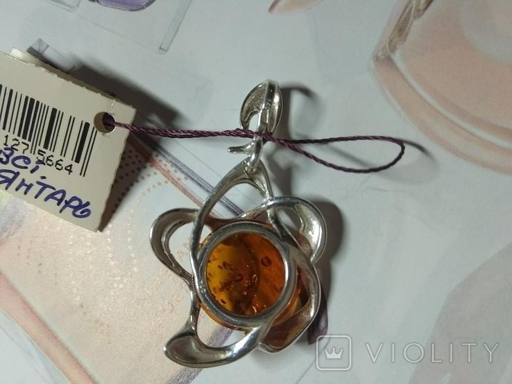 Кулон серебро 925 новый, фото №3