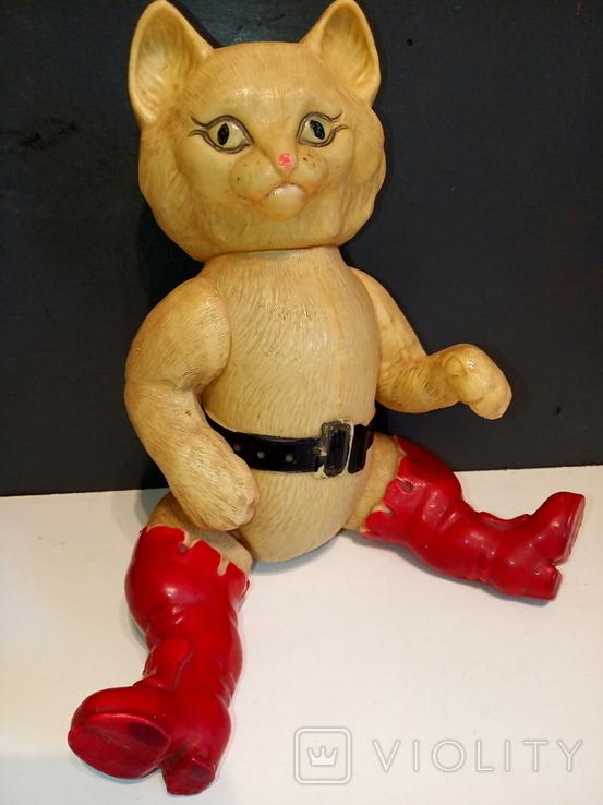 Кот в сапогах СССР, целлулоид., фото №3