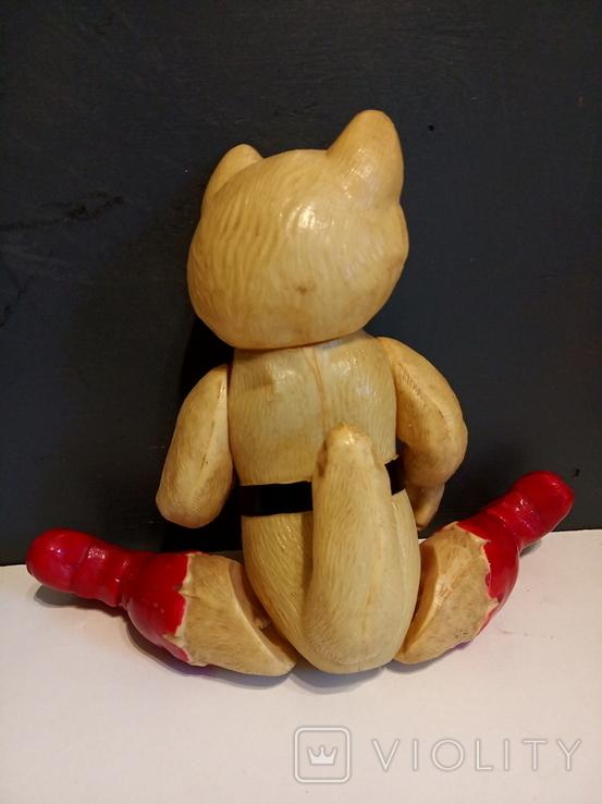 Кот в сапогах СССР, целлулоид., фото №5