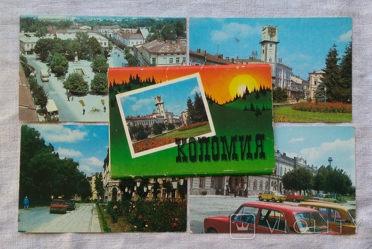 Набор открыток Коломия. 1987г. 10 открыток., фото №2