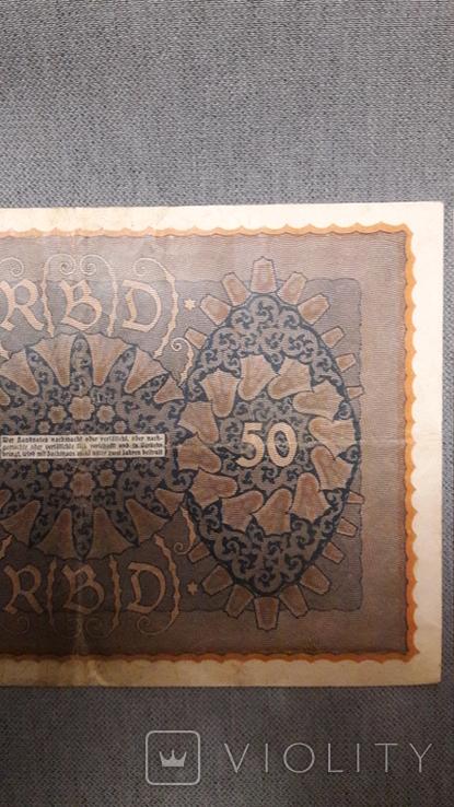 Германия. 50 марок 1919 год., фото №7