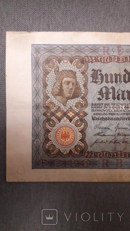 Германия. 100 марок 1920 год., фото №3
