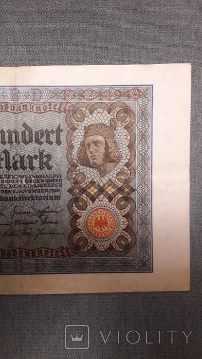 Германия. 100 марок 1920 год., фото №4